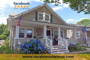 Belmar Vacation Rentals – Blue Hydrangea Beach Cottage